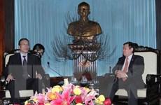 Đoàn đại biểu hữu nghị Đảng Cộng sản Trung Quốc thăm Việt Nam