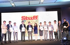 Samsung thắng lớn tại lễ trao giải Stuff Vietnam Awards 2014