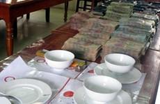 Hưng Yên: Bắt quả tang hơn 30 con bạc tại trang trại bỏ hoang
