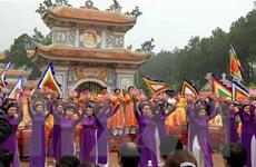 Lễ hội và văn hóa tâm linh thu hút đông khách du lịch đến Huế