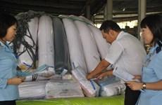 Tây Ninh: Tịch thu gần 4 tấn vải không rõ nguồn gốc, xuất xứ