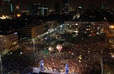Hàng vạn người dân Israel míttinh yêu cầu thay đổi chính phủ