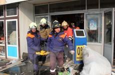 Đã có 9 người chết do cháy trung tâm thương mại ở Tatarstan