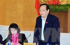 Bế mạc phiên họp thứ 36 Ủy ban thường vụ Quốc hội khóa XIII