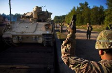 Cộng hòa Séc cho phép đoàn xe quân sự Mỹ đi qua lãnh thổ