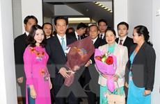 Thủ tướng Nguyễn Tấn Dũng hội kiến với Toàn quyền New Zealand