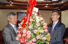 Đại sứ Việt Nam chúc mừng 60 năm Đảng Nhân dân Cách mạng Lào