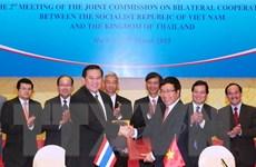 Xúc tiến mở tuyến xe buýt xuyên biên giới Thái Lan-Việt Nam
