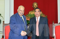 Hợp tác Quốc hội Việt Nam-Palestine ngày càng đi vào chiều sâu