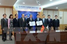 Việt Nam-Hàn Quốc ký kết thỏa thuận hợp tác ngành tư pháp