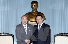 Trưởng ban Đối ngoại Trung ương tiếp đoàn nghị sỹ Nhật Bản