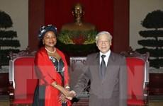 Tổng Bí thư Nguyễn Phú Trọng tiếp Chủ tịch Quốc hội Nam Phi