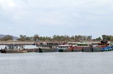 Bắt vụ khai thác cát trái phép quy mô lớn tại Bà Rịa-Vũng Tàu