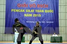 Hà Nội nhất toàn đoàn Giải vô địch Pencak Silat toàn quốc 2015