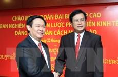 Tăng cường hợp tác Việt-Lào trong nghiên cứu phát triển kinh tế