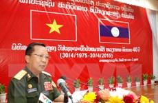 Lào tổ chức míttinh trọng thể kỷ niệm Chiến thắng 30/4 của Việt Nam