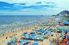 Biển Vũng Tàu thu hút khách du lịch trong dịp nghỉ lễ 30/4