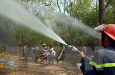 Tăng cường phòng cháy chữa cháy rừng ở Vườn Quốc gia Tràm Chim