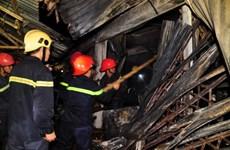 Quảng Ngãi: Vụ cháy chợ đầu mối Nghĩa Phú là do chập điện