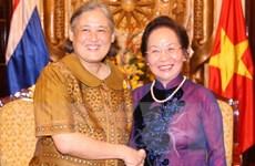 Phó Chủ tịch nước Nguyễn Thị Doan tiếp đoàn Công chúa Thái Lan