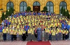 Phó Chủ tịch nước tiếp đoàn đại biểu cháu ngoan Bác Hồ tỉnh Nghệ An