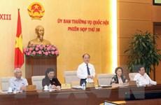 Khai mạc Phiên họp thứ 38 Ủy ban Thường vụ Quốc hội khóa XIII