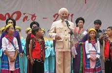Nghệ sỹ Văn Tân với niềm đam mê với những vai diễn về Bác Hồ
