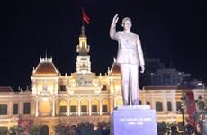 Khánh thành Tượng đài Chủ tịch Hồ Chí Minh tại Thành phố mang tên Bác