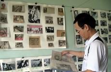 Người đam mê hơn 30 năm miệt mài sưu tập ảnh về Bác Hồ