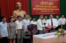 TTXVN và tỉnh Phú Thọ tăng cường hợp tác truyền thông