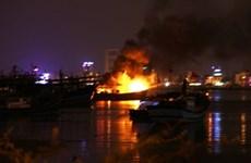 Điều tra làm rõ vụ cháy tàu cá trong đêm tại Quảng Nam