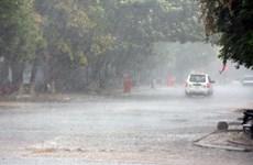 Các vùng trên cả nước có mưa dông rải rác trong đêm nay