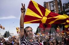 Phe đối lập tại Macedonia biểu tình đòi thủ tướng từ chức