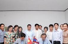 Việt Nam-Lào hợp tác chuẩn hóa chương trình dạy song ngữ tại Lào