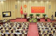 Khai mạc kỳ họp thứ 13 Hội đồng Nhân dân thành phố Hà Nội khóa XIV