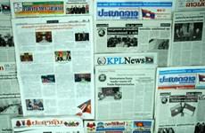 Báo chí Lào đưa tin đậm nét về chuyến thăm Hoa Kỳ của Tổng Bí thư