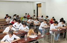 Nhiều cụm thi tại TP. Hồ Chí Minh đã hoàn thành khâu chấm điểm