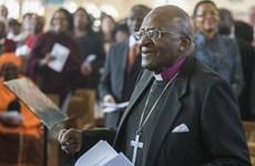 Biểu tượng đấu tranh chống Apartheid Desmond Tutu phải nhập viện
