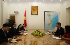 Việt Nam-Anh tăng cường hợp tác trong ứng phó biến đổi khí hậu