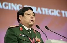 Bộ trưởng, Đại tướng Phùng Quang Thanh đã về đến Hà Nội