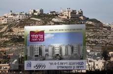 Quốc tế cực lực lên án việc Israel tiếp tục xây dựng khu định cư