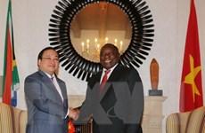 Nam Phi tăng xuất khẩu các mặt hàng thế mạnh sang Việt Nam
