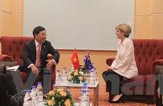 Phó Thủ tướng Phạm Bình Minh tiếp xúc song phương bên lề AMM48