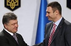 Đảng của Poroshenko hợp nhất đảng Udar tranh cử địa phương