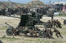 Yonhap: Nhiều khả năng Triều Tiên đã triển khai pháo tới DMZ