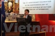 Nhiều hoạt động thúc đẩy hợp tác Việt Nam-Australia dịp Quốc khánh