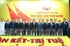 Ông Hoàng Dân Mạc tiếp tục giữ chức Bí thư Tỉnh ủy Phú Thọ