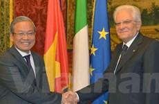 Không ngừng đưa quan hệ Việt Nam-Italy lên tầm cao mới