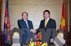 Việt Nam-Campuchia quyết tâm sớm hoàn thành cắm mốc biên giới