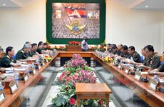 Việt Nam-Campuchia nhất trí đẩy mạnh hợp tác quốc phòng